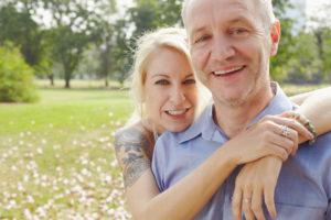 portrait of a middle aged couple